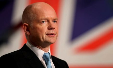 William Hague To Urge Reforms On Visit To Burma