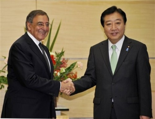 Photostream : U.S. Defense Secretary Leon Panetta meets Japanese ...