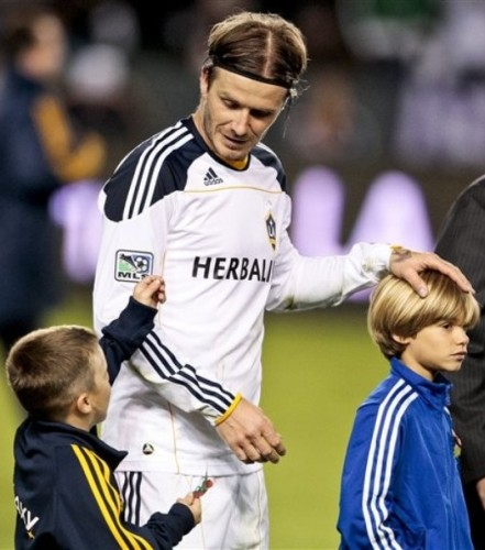 LA Galaxy Asia Tour, David Beckham