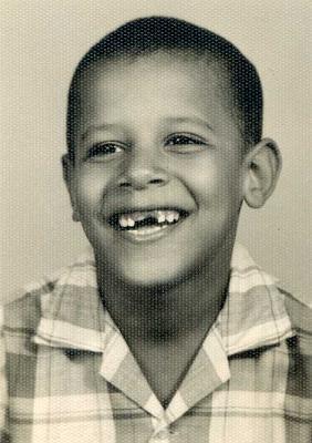Barack Obama sewaktu kecil