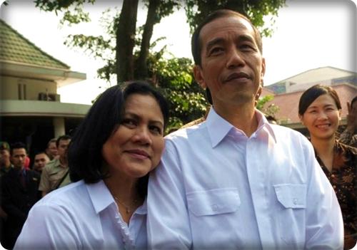Presiden Joko Widodo dan Ibu Negara Iriana Joko Widodo
